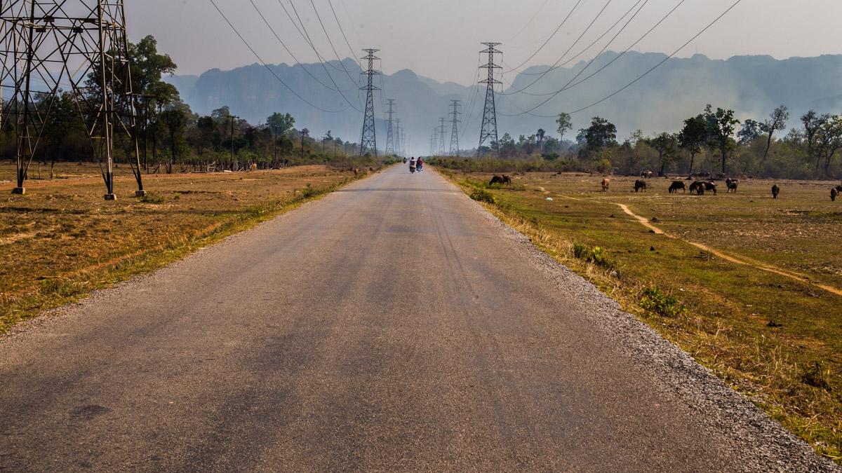 Дорога в Конг Лор