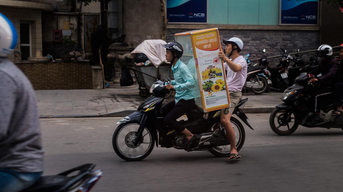 Transport de marchandise au Vietnam