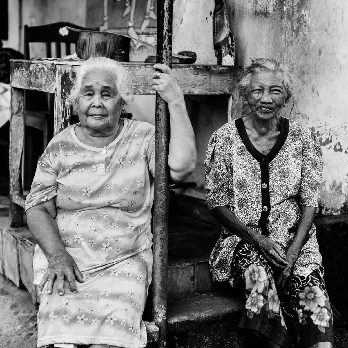 Gentilles dames à Yogyakarta