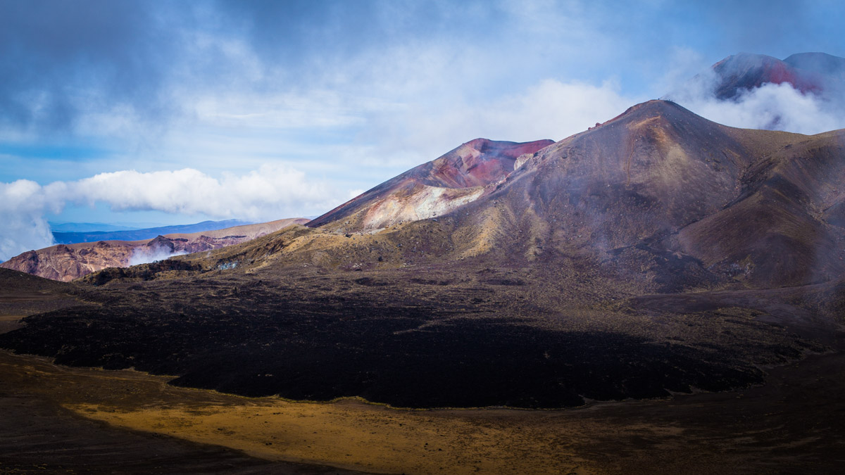 Кратер вулкана, Национальный парк Тонгариро