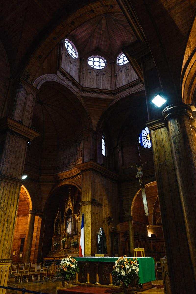 L'église San Francisco à Castro, l'île de Chiloé