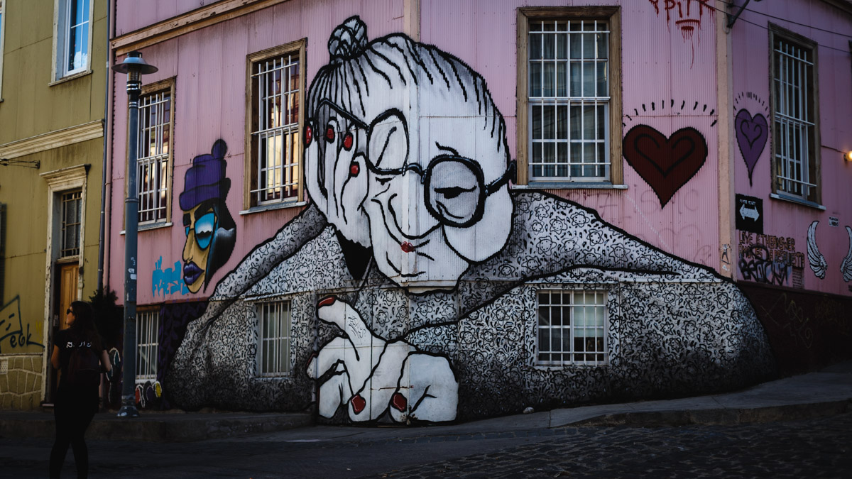 Street Art à Valparaíso