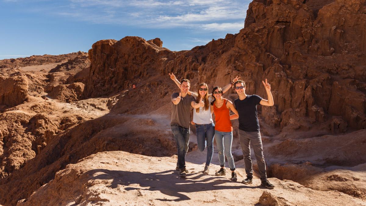 Vallée de la Luna, désert d'Atacama