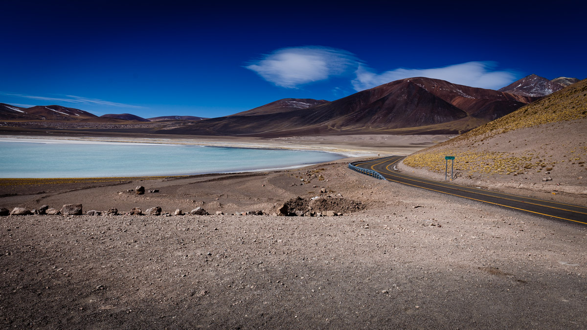 Lagune Piedras Rojas, désert d'Atacama