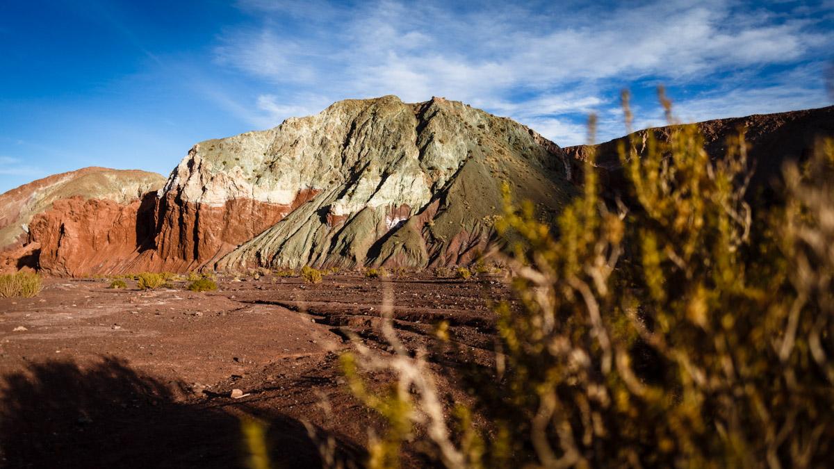 Vallée Arc-en-ciel, désert d'Atacama