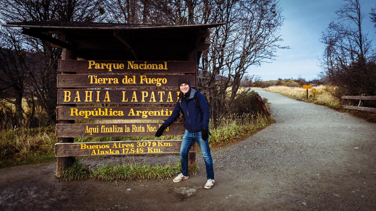 Конец всех дорог в Латинской Америке, нац.парк Огненная Земля, Ушуайя