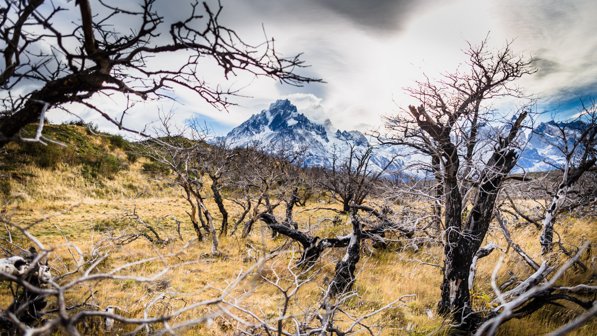 "Trek ""W"" dans le parc national Torres del Paine, Chili"