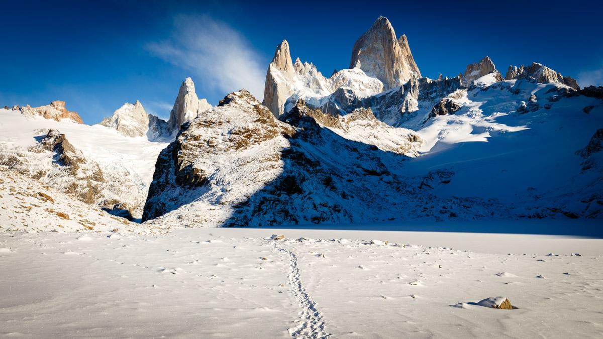 Гора Фитц Рой, Эль Чальтен, Аргентина