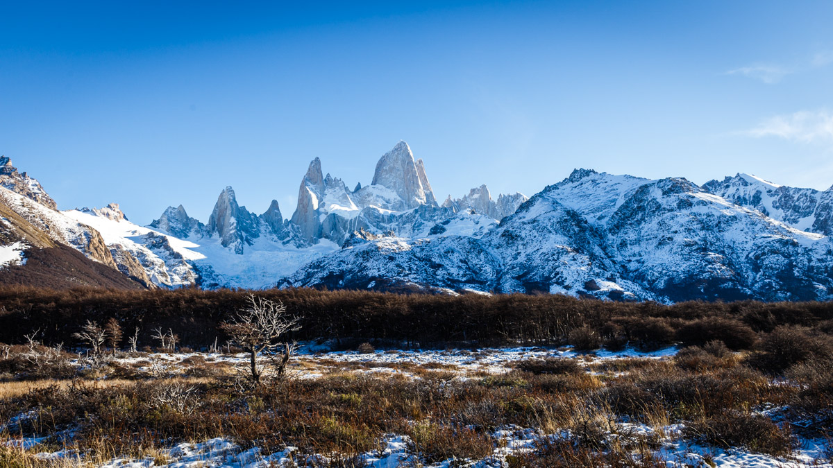 Поход к горе Фитц Рой, Эль Чальтен, Аргентина