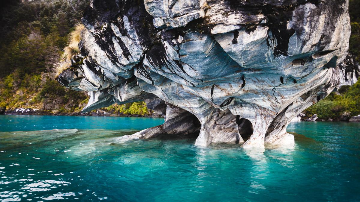 Мраморные пещеры, Пуэрто Рио Транкило, Чили