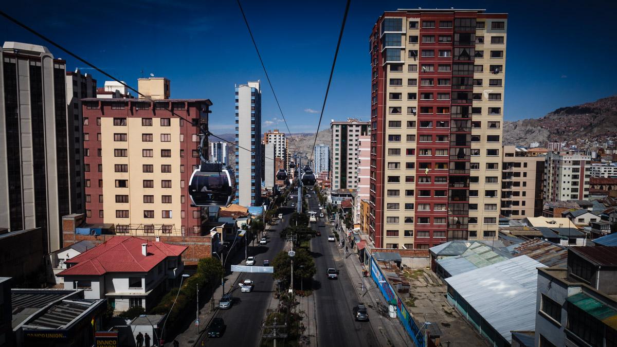 Métro aérien de La Paz
