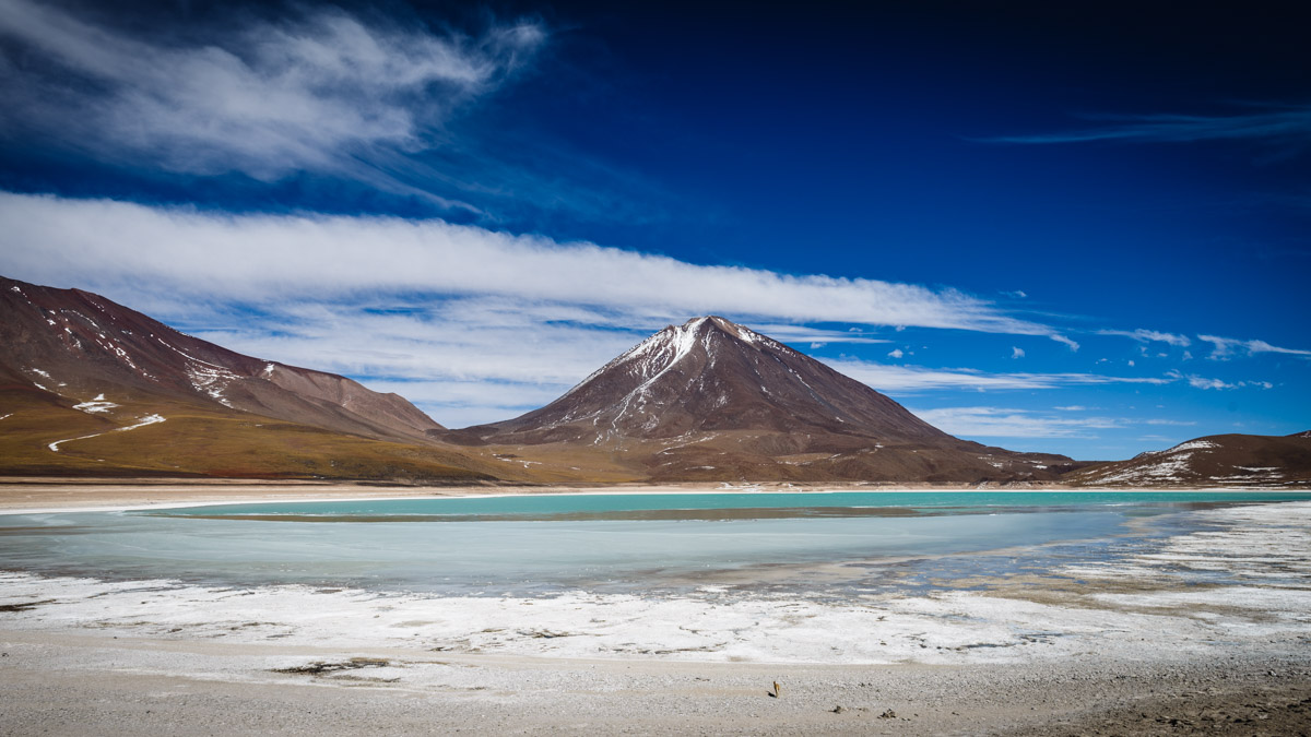 Lagune Verte, Réserve nationale de faune andine Eduardo Avaroa