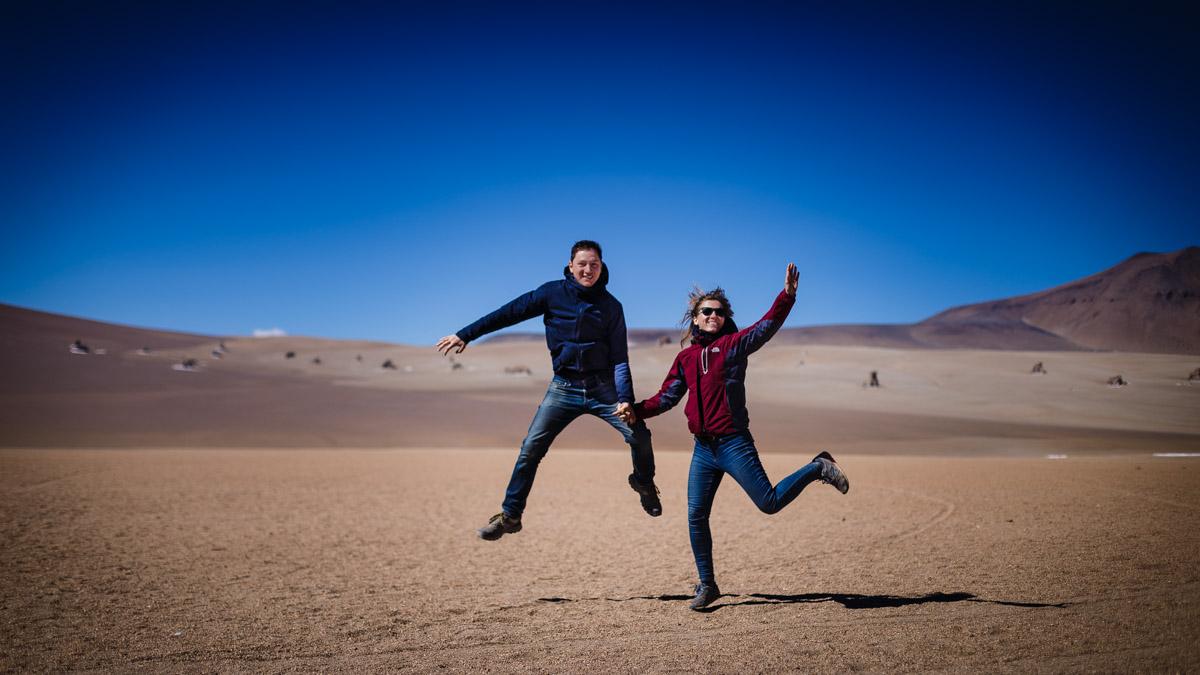 Sauts et danses dans le désert Salvador Dali