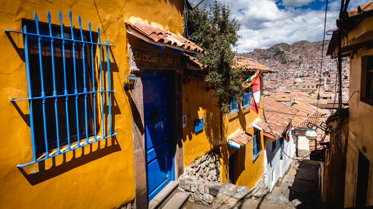 Улочка в Куско