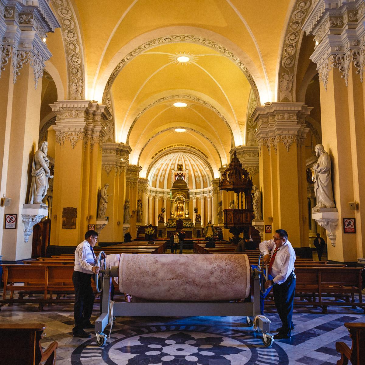 Кафедральный собор г. Арекипа