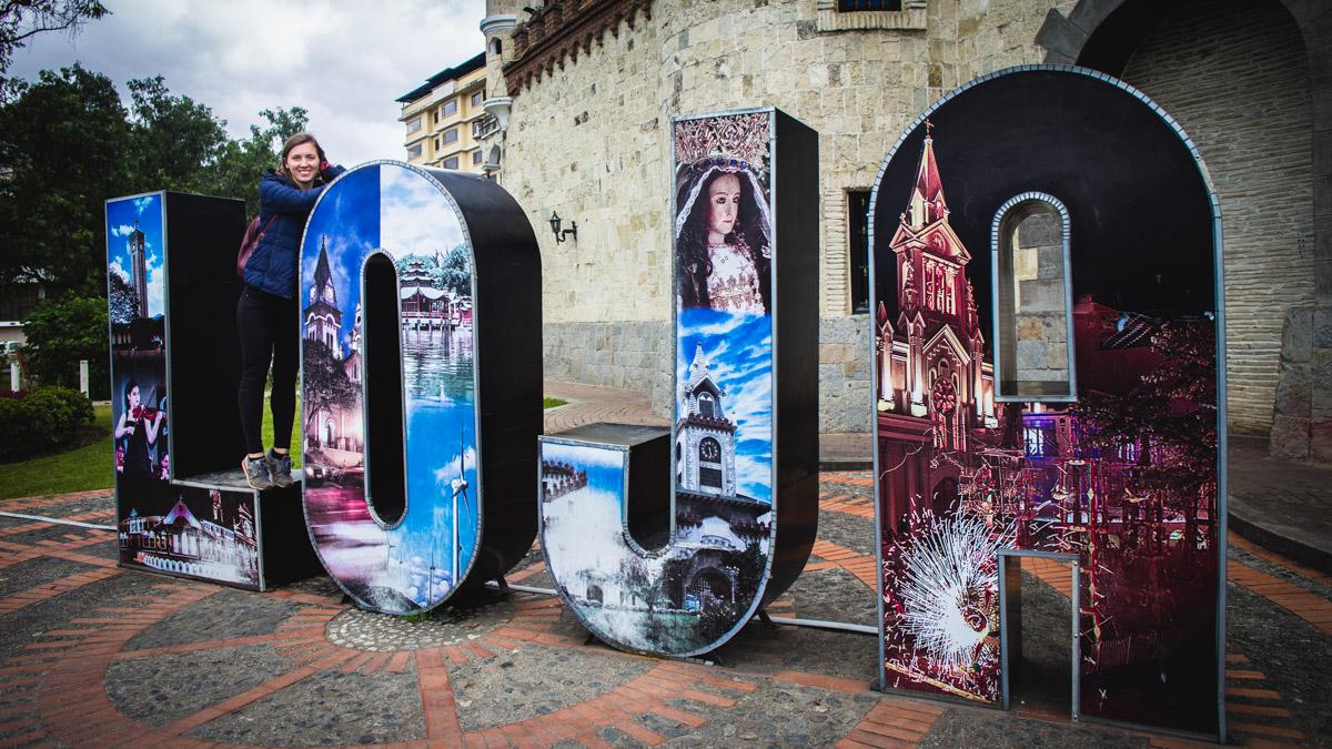 Portail de la ville Loja