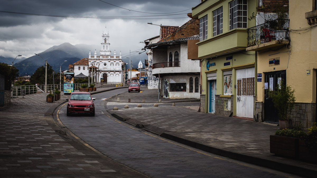 Sur les rues de Cuenca