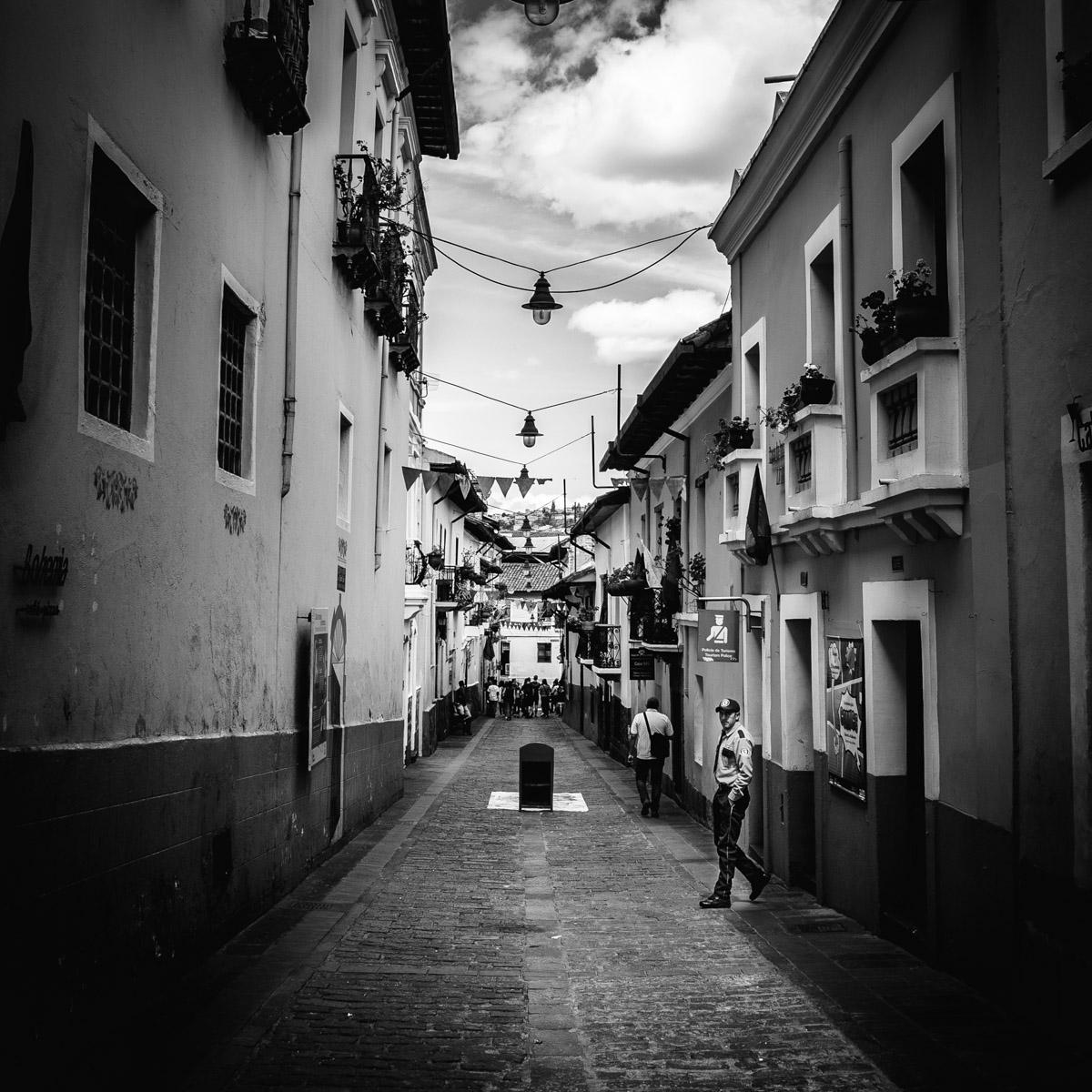 Rue La Ronda, Quito