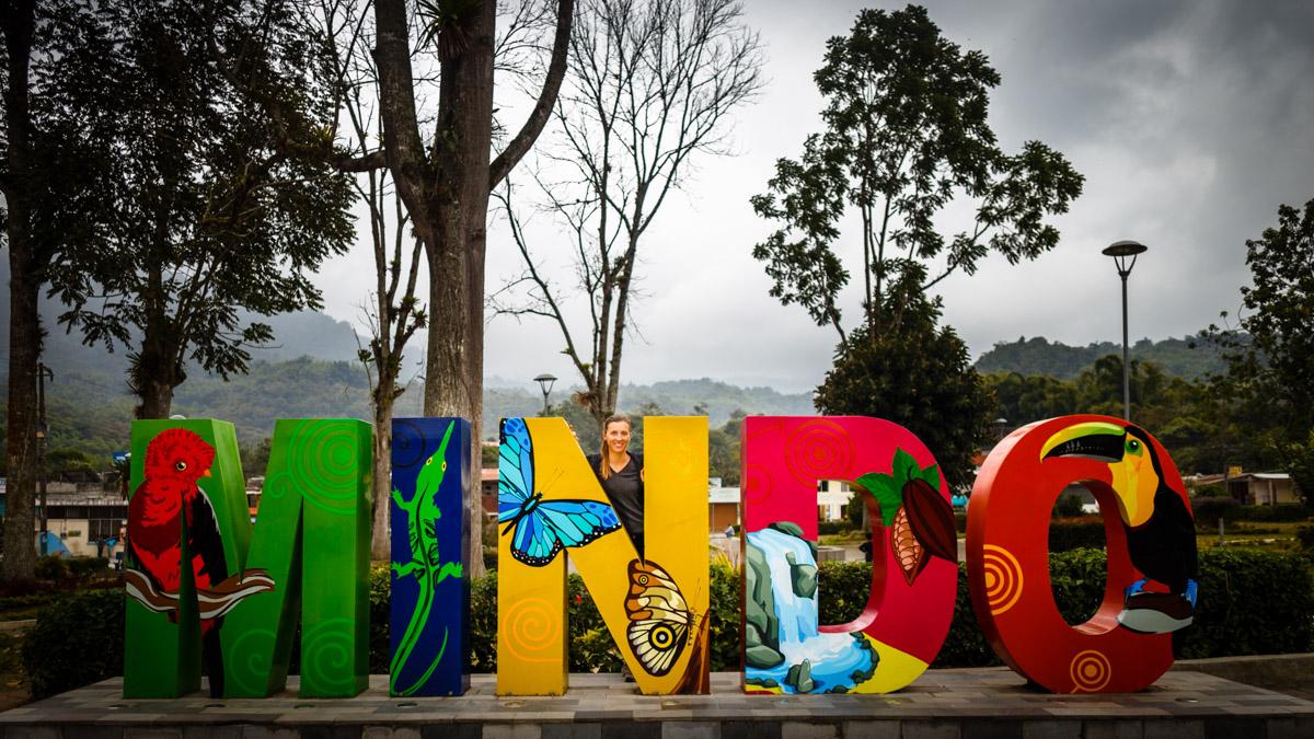 Dans le petit village de Mindo