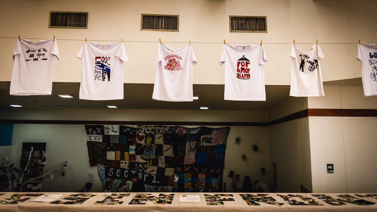 Выставка против насилия в бедных кварталах, Кали