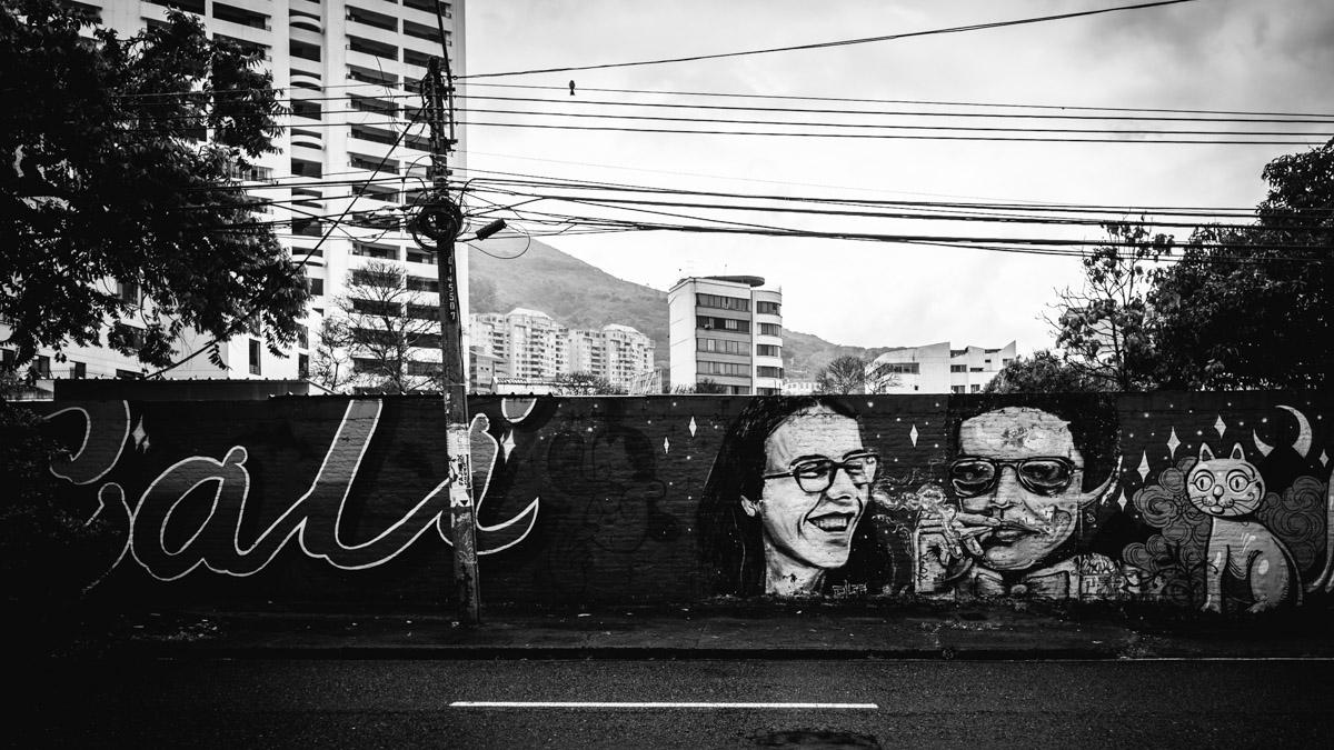 Самые известные графити г.Кали