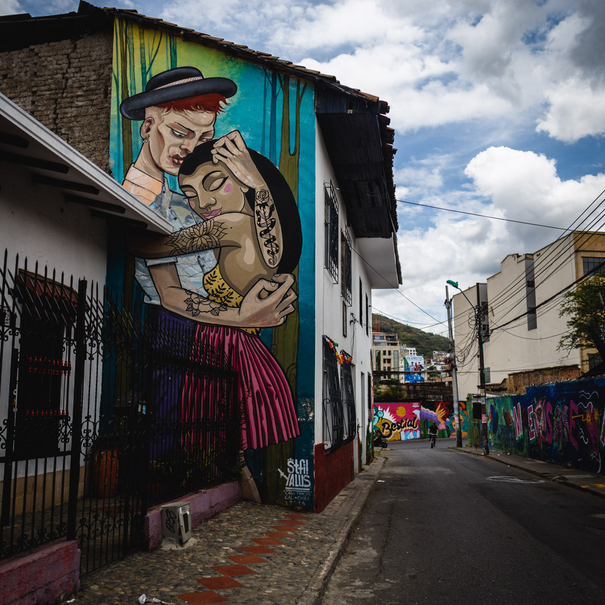 Street Art, Кали