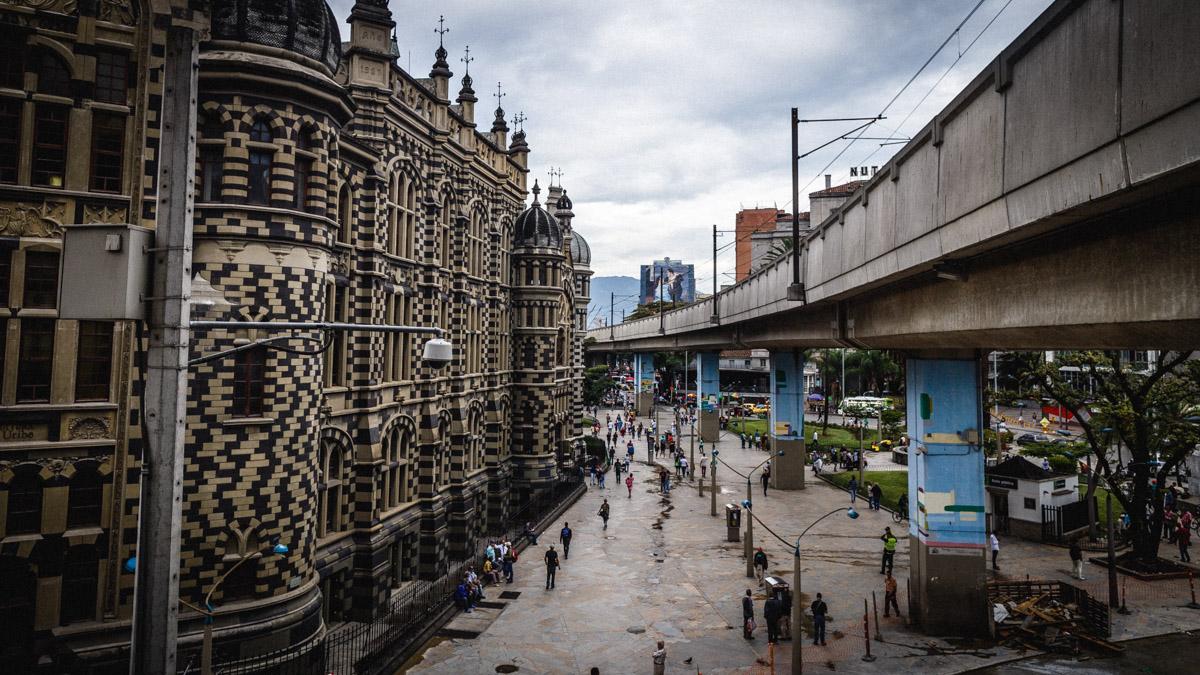 Центр города Медельин