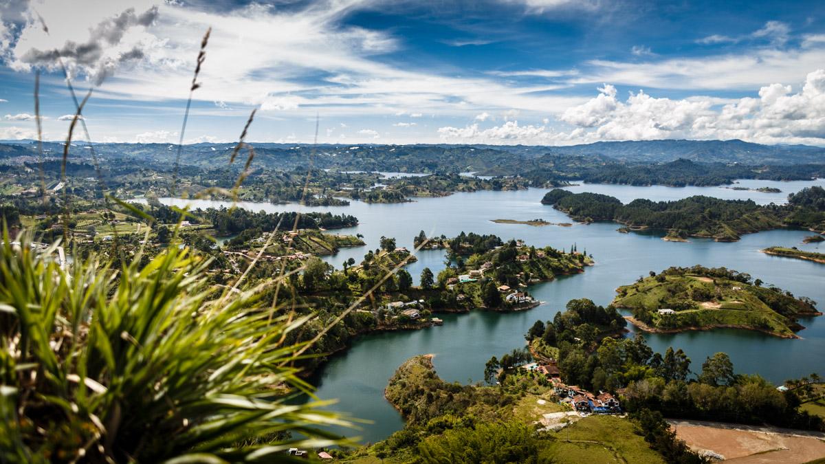 Озеро Эль Пеньоль, Гуатапе
