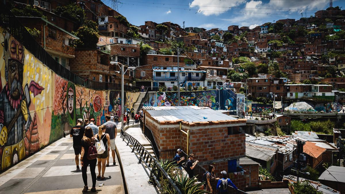 Комуна 13, Медельин