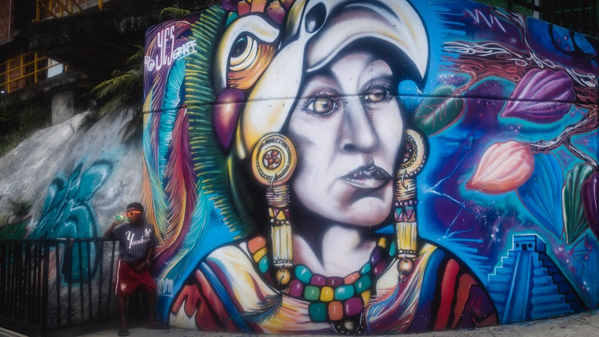 Street Art, Комуна 13, Медельин