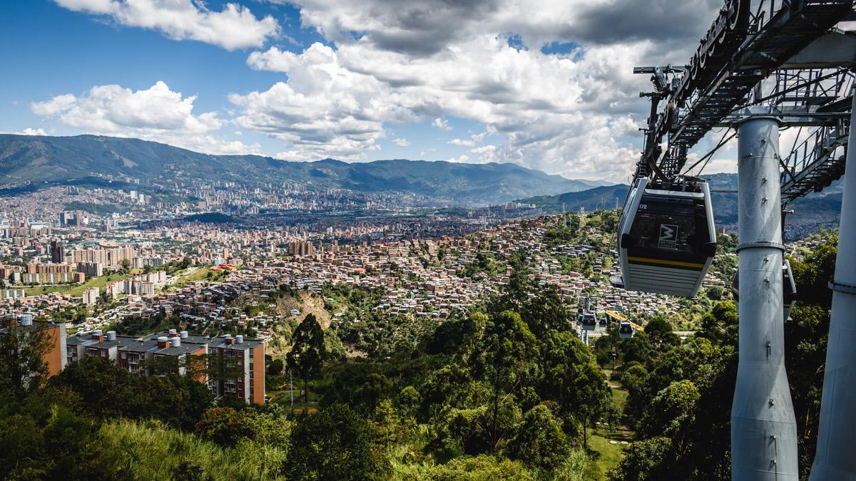 Вид на Медельин