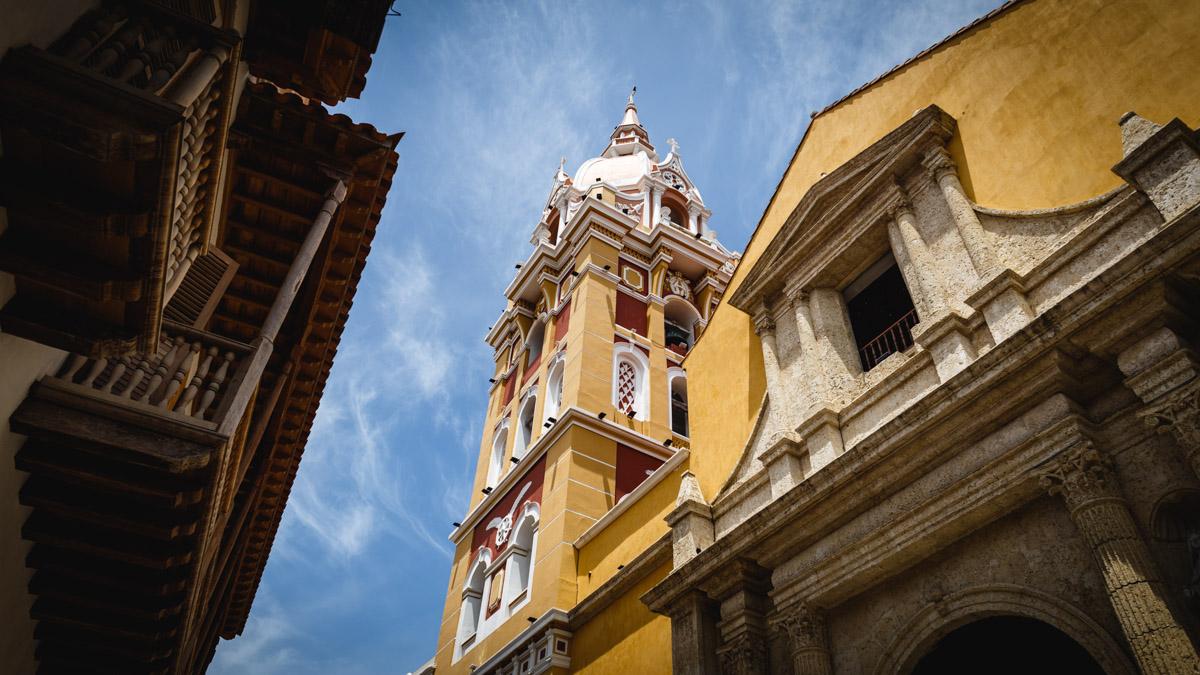 Центр города Картахена