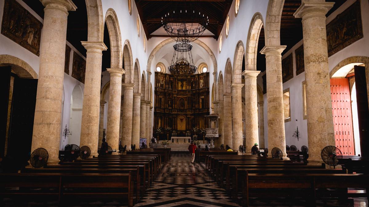Кафедральный собор города Картахена
