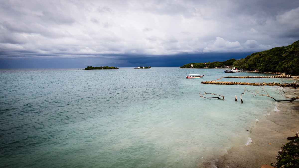 Пляжи острова Исла Гранде, Карибы
