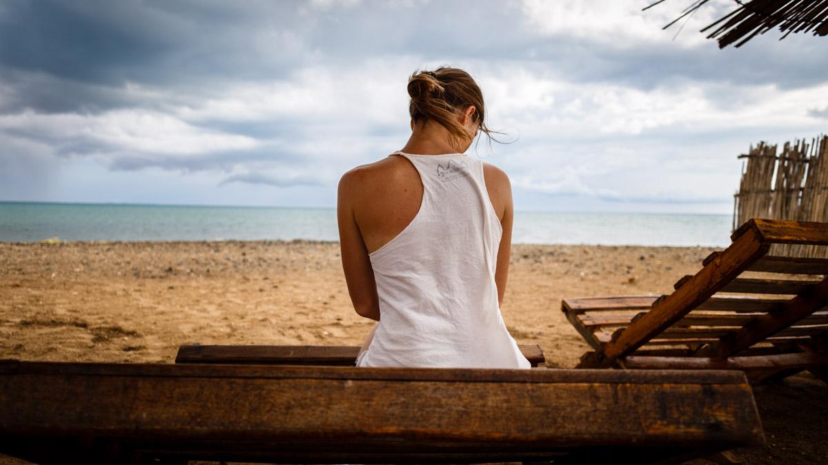 На пляже Кабо де ла Вела