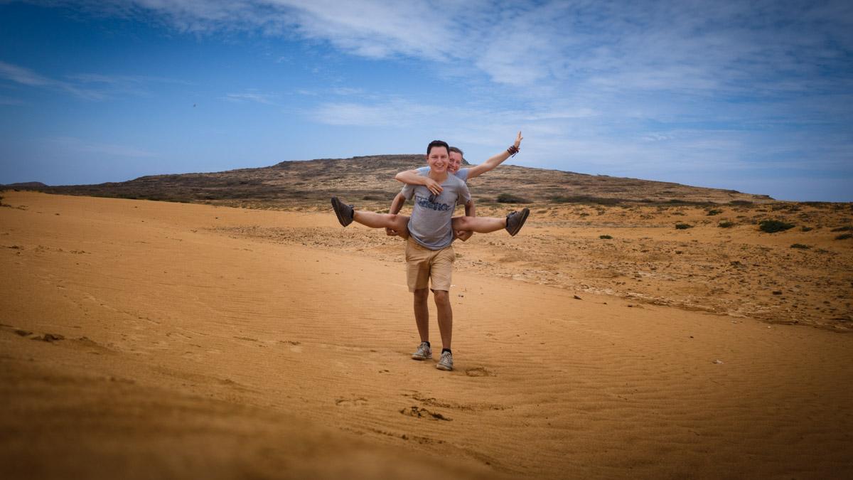 В пустыне, Кабо де ла Вела