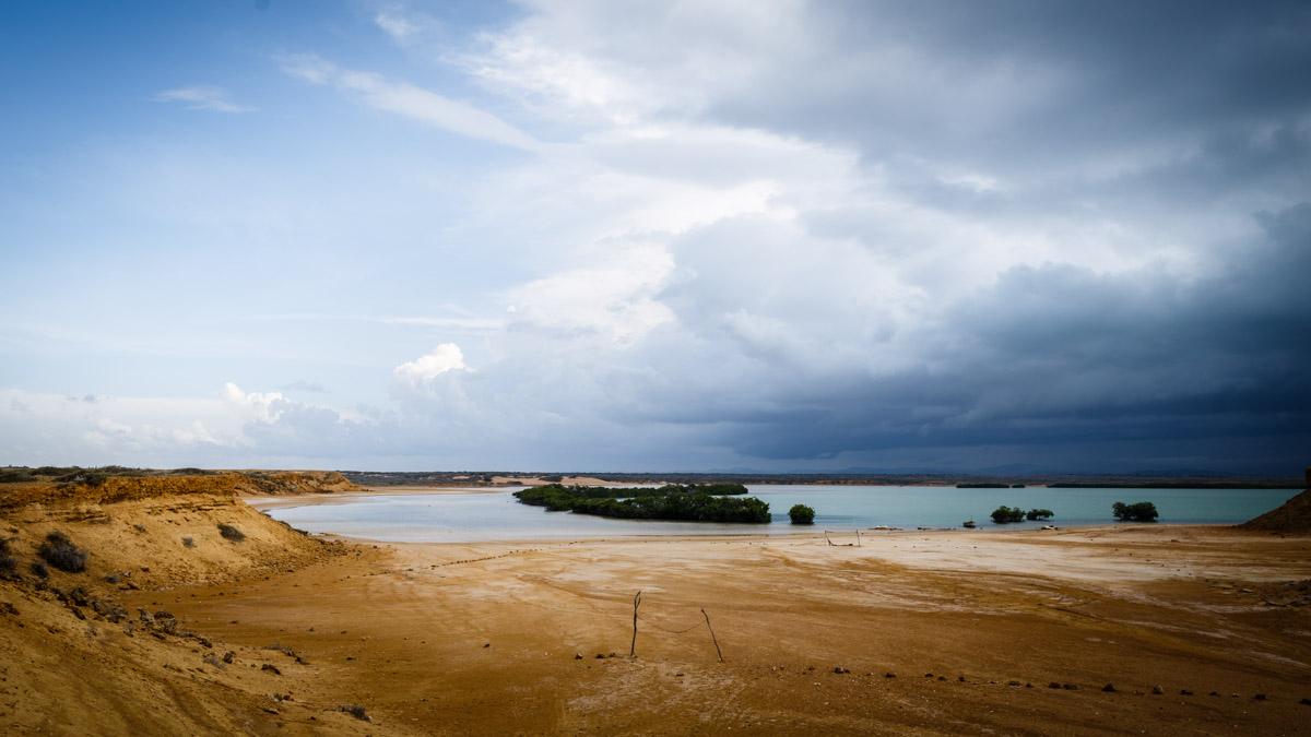 Вид на лагуну, мыс Пунта Гальинас